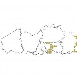 Verspreidingskaart (2007), Europese bever